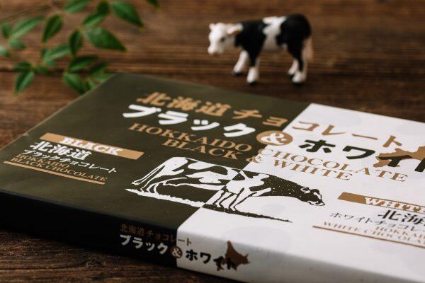 北海道黑白巧克力